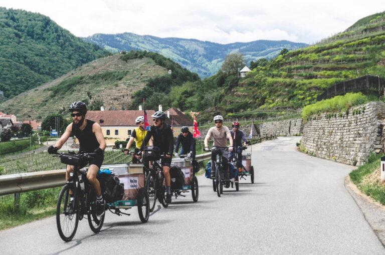 low carbon artist tour -Manu Delago ReCycling
